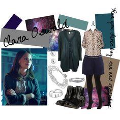 Clara Oswald by sherlokicks on Polyvore