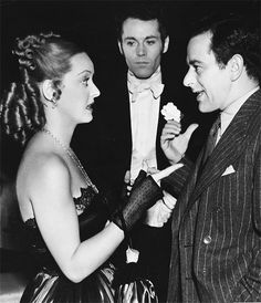 Image result for bette davis in jezebel with wyler and brent