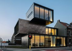 CAAN Architecten creates a stacked office building