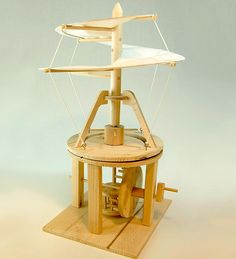Leonardo da Vinci's Helicopter Kit
