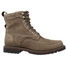 These men s boots from Timberland feature a unique vintage-look stitched  design and the complete 91f007a2da
