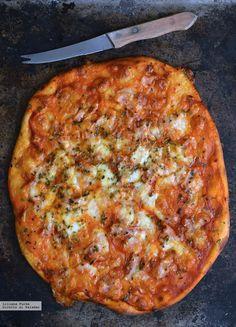 Cómo hacer masa de pizza con solo dos ingredientes. Receta exprés