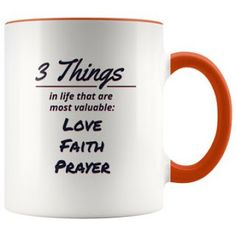 3 Things In Life Series: Version Things in life that should never be lost: Peace Hope Honesty Black And White Living Room, Faith Prayer, Cool Mugs, Honesty, 3 Things, Prayers, Peace, Love, Cups