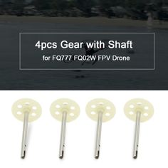 Only US$3.83 at fast free shipping. Shop best 4pcs Original Gear with Shaft for FQ777 FQ02W FPV Drone Foldable Quadcopter for sale, There are various discounts waiting for you   Tomtop.com