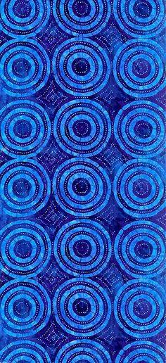 Blue pattern. Indigo blues.