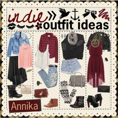 ∞ iNDiE OUTFiT iDEAS ∞