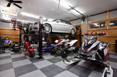 Garage Floors | Garage Gallery | RaceDeck