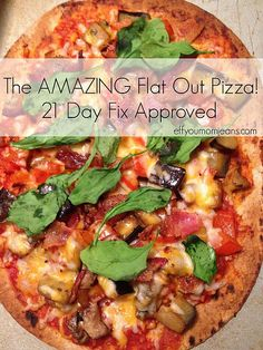 Eff You Mom Jeans - Katie Rollins | Life & 21 Day Fix Approved Flat-Out Pizza!
