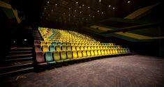 天津影城注入朝氣 色彩奪目的「田徑賽道」設計-設計家 Searchome Cinema Theatre, Hong Kong, Fair Grounds, Travel, Google, Cinema Movie Theater, Viajes, Destinations, Traveling