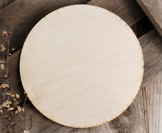 Wood Circles Birch Plywood 10in