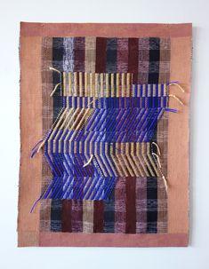 Meghan Spielman — warp and weft Weaving Process, Hand Weaving, Small Tapestry, Long Weave, Female Painters, Jacquard Loom, Royal College Of Art, Silk Wrap, London Art