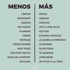 Menos ⬅️Más➡️#uo #virutitas #añonuevo #semanaderelax #vivalarutina #seacabaronlasnavidades #2017