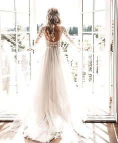 Wonderful Perfect Wedding Dress For The Bride Ideas. Ineffable Perfect Wedding Dress For The Bride Ideas. Top Wedding Dresses, Country Wedding Dresses, Wedding Dress Trends, Perfect Wedding Dress, Cheap Wedding Dress, Boho Wedding Dress, Bridal Dresses, Ivory Wedding, Rustic Wedding