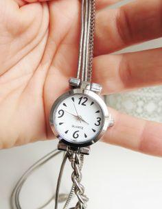 Quartz ketting watch