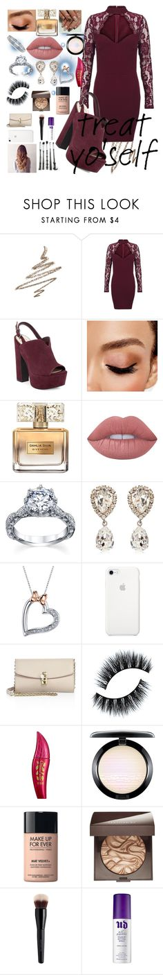 """""""Treat your self"""" by maryamsaeed1 ❤ liked on Polyvore featuring Anastasia Beverly Hills, Jessica Simpson, Avon, Givenchy, Lime Crime, Dolce&Gabbana, Disney, Physicians Formula, MAC Cosmetics and MAKE UP FOR EVER"""