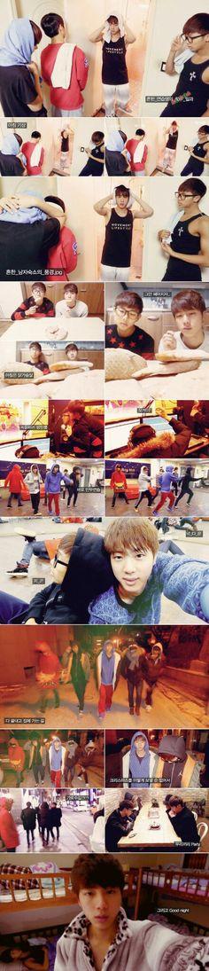 BTS TRAINEE DAYS
