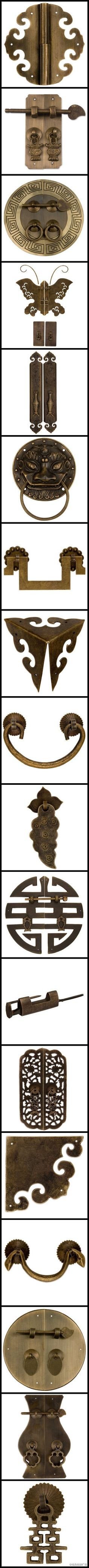 Hinges n locks antique