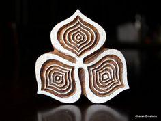 Sellos de madera hecha a mano por indúes, son una combinación única de arte, habilidad & funcionalidad!