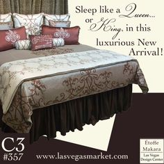 Royalty resides here! Etoffe Makara C3 #357 #LvMkt #interiordesign #homedecor #vegas #home #design #decor #furniture