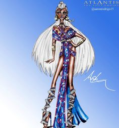 'Kida' Disney Princess Couture Collection by @aaronrodrigo15| Be Inspirational ❥|Mz. Manerz: Being well dressed is a beautiful form of confidence, happiness & politeness