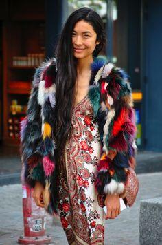 "Women's Fashion - Street Fashion - Fur - Dress  ""…He Made you garments.."" Surah Nahl, 81  ""….giyimlikler de Var etti..."" Nahl Suresi, 81"