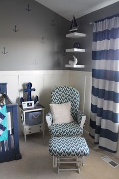 Nautical Nursery Dec