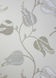 Isfahan Tulip wallpaper from Osborne & Little