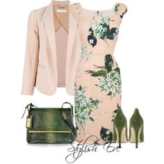 Noha, created by stylisheve on Polyvore Hot Outfits, Classy Outfits, Fashion Outfits, Womens Fashion, Jw Mode, Dressing, Professional Wear, Elegant Outfit, Office Outfits