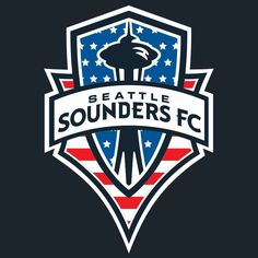 Scarves Up For USA Copa America Centenario, Soccer Logo, Seattle Sounders, Juventus Logo, Tree Branches, Branding, Team Logo, Art Pieces, Football