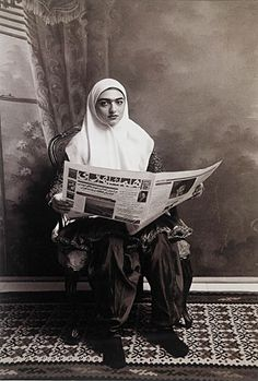Four contemporary photographers -- hailing from Yemen, Iran, Lebanon and Saudi Arabia -- are bringing a female perspective on the Middle East to the whit. Contemporary Photographers, Female Photographers, Contemporary Artists, American Photo, Iranian Art, Popular Photography, Museum Of Fine Arts, Black And White Pictures, Female Art