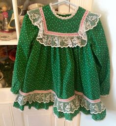Vintage Bryan Dress Girls 4/5 by lishyloo on Etsy
