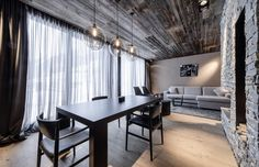 ADMONTER altholz in modern hotels interiors