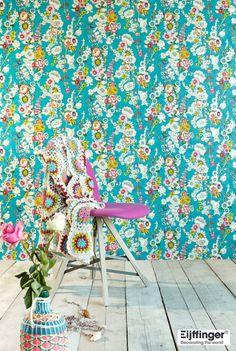 『Import Wallpaper TECIDO THE BLOOMING HOUSE5 Eijffinger 330203』 http://item.rakuten.co.jp/interior-cozy/330200_330205/ #wallpaper #interior #diy #ned #輸入壁紙 #壁紙