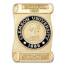 Clemson University Pin, SC