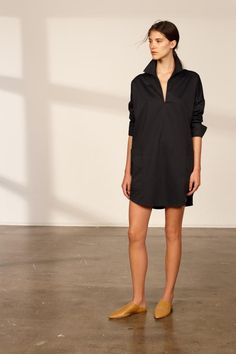 8b821667c21 The Melrose Plain V Neck Shirt Dress by C M CAMILLA AND MARC Online  Boutiques