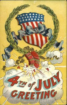 4th of July Greeting - Fire Crackers