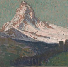 The Matterhorn By Edgar Payne . Truly Art Offers Giclee Unframed Prints on Paper, Canvas Art, and Framed Art in all our Collections. Landscaping Software, Landscaping Company, Edgar Payne, Landscape Artwork, Matte Painting, Paintings I Love, Contemporary Artists, Art Inspo, Framed Art