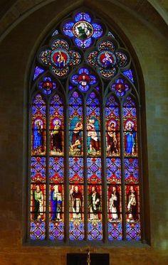 Aix en Provence, intérieur de Église St Jean de Malte