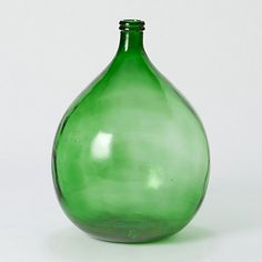 Terrain Emerald Vase  #shopterrain $328  18 inches high, 18.5 inches diameter