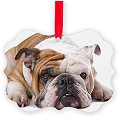 The 75 best Bulldog Christmas Ornaments images on Pinterest | Dog ...