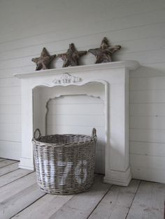 love the mantel and the basket