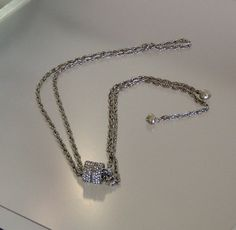 Rhinestone Rings  Lariat Antique Silver Rope by rosepetalsjewelry, $23.00