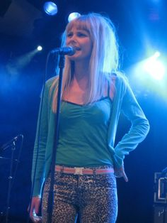 Mette Lindberg  -easy to love. of The Asteroids Galaxy Tour