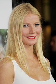 9 Hot Makeup Looks for Fall 2013 - Gwyneth Paltrow Gwyneth Paltrow, Bridal Beauty, Wedding Beauty, Orange Lipstick, Red Lips, Inspirational Celebrities, Celebrity Beauty, Great Hair, Cute Hairstyles