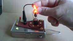 Picture of Steampunked plasma-beam generator