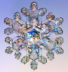 Snowflakes under microscope - Imgur; click on image to see more!