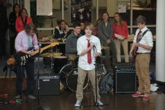 Open Mic at the Upper School