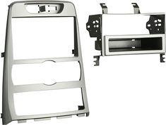 Metra - Dash Kit for Select 2010-2012 Hyundai Genesis Coupe auto climate controls - Silver