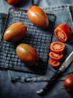 """10 Semi Pomodoro /""""burro di arachidi-pomodori/"""" Striped Stuffer semi pomodori"""