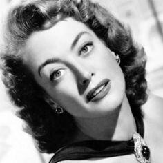 Joan Crawford- huge old hollywood actress